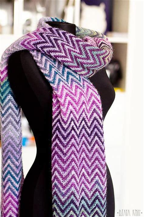 zickzack scarf pattern ravelry djaya s zickzack scarf alize angora gold