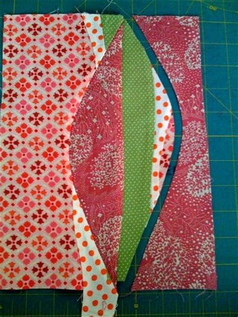 curved piecing would make a great quilt back quilt
