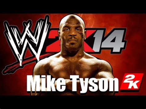 mike tyson wwe create
