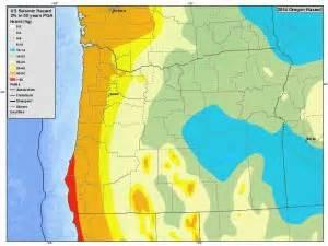 oregon earthquake map quickfacts why buy earthquake insurance