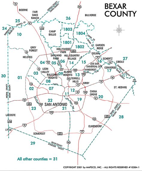 zip code map san antonio bexar county san antonio map