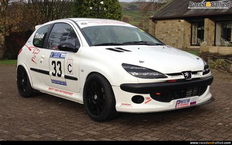 cars peugeot sale peugeot 206 race car rally sprint hillclimb track 274 bhp