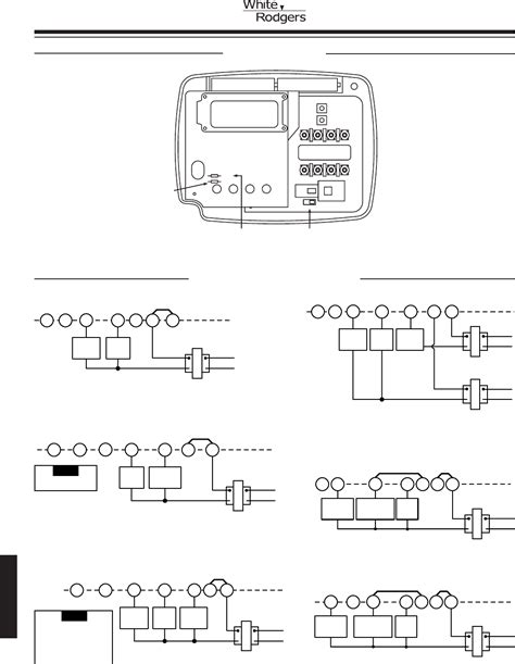 white rodgers thermostat wiring diagram emerson thermostat wiring diagram get free image about