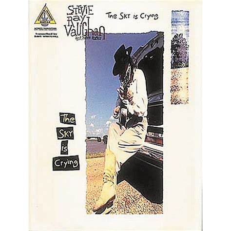 hal leonard stevie ray vaughan  sky  crying guitar tab book