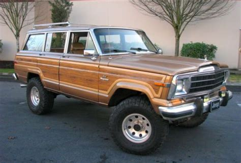 1986 Jeep Wagoneer Mpg Sell Used 1986 Jeep Grand Wagoneer Great Driving Classic