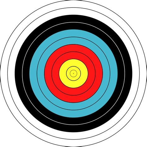 l target archery fita official target recreation sports archery
