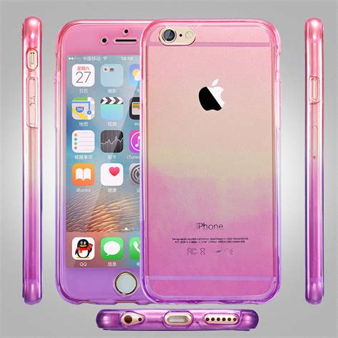 Slicoo Clear Apple Iphone 66s Rubber Ultra Fit Thin Back Hijau new tpu 360 protective cover for iphone 5 5s 5se 6 6plus 6s 6s plus tosave