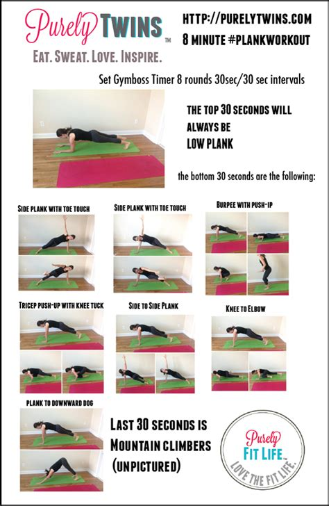plank exercise variations and routines for rock abs