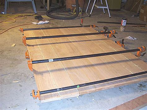table top glue up cherry dining