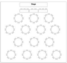 table layout plan wedding segnaposti on pinterest table numbers place cards and