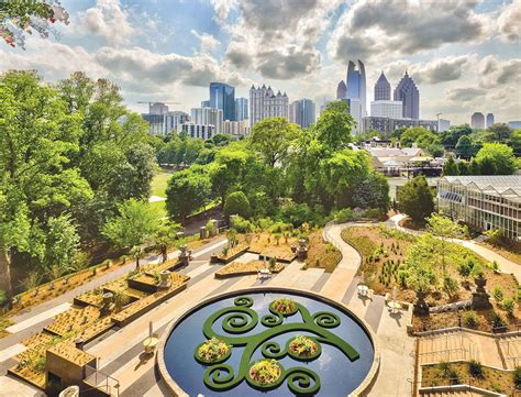 The Atlanta Botanical Garden Atlanta Botanical Garden Opens Skyline Garden Northside Springs Mdjonline
