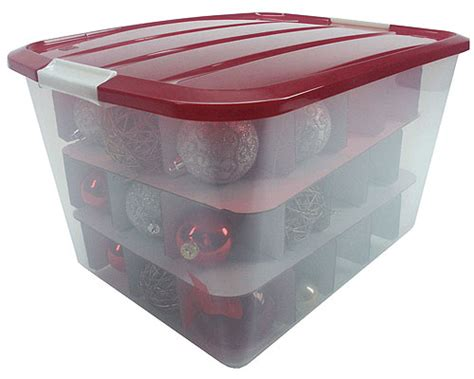 ornament box storage iris ornament storage box large in ornament storage boxes