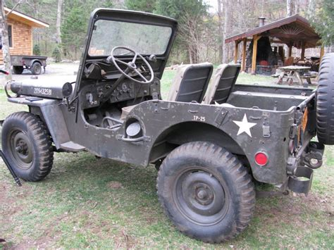 willys jeepster for sale 1952 jeep m38 willys for sale