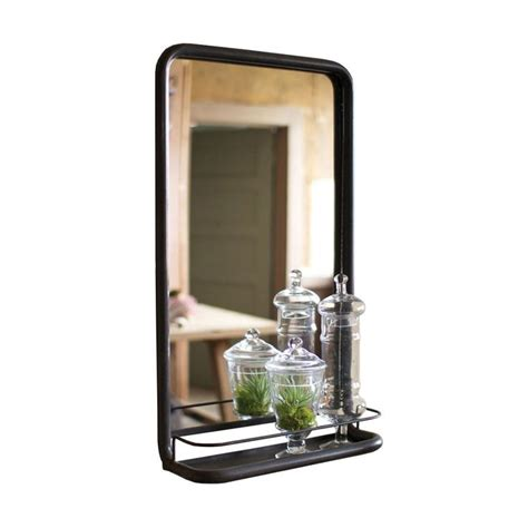The Industrial Minimalist Meets The Modern Homeowner In Metal Bathroom Mirrors