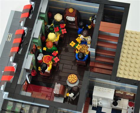 Modular Kitchen lego 174 moc modular pizza parlor