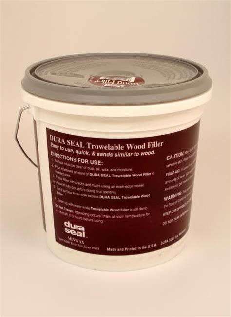 Dura Seal Maple Ash Pine Trowelable Wood Filler Gallon