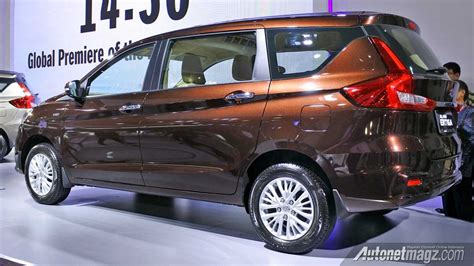 Sport Rack Ertiga new maruti ertiga makes global debut details features