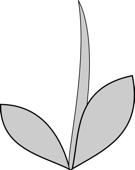 flower stem template flower stem and leaf clipart clipart suggest