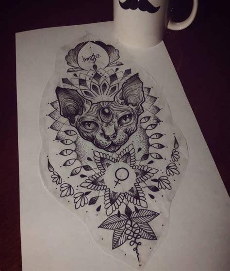 tattoo cat mandala 43 best egyptian tattoo images on pinterest