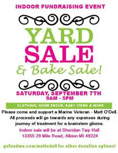 yard sale flyers clipart clipart suggest