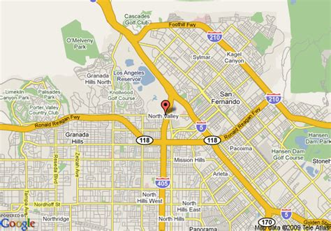 where is granada california on the map map of americas best value inn granada los angeles