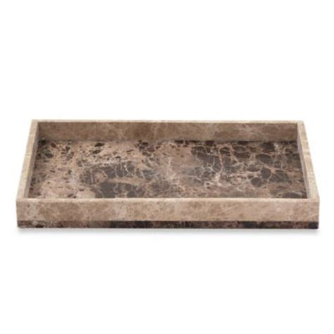 marble bathroom tray buy marble tray from bed bath beyond