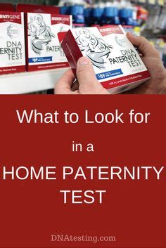 Dna Test Is All Done So Whos The by Are You Considering Doing A Home Paternity Test You
