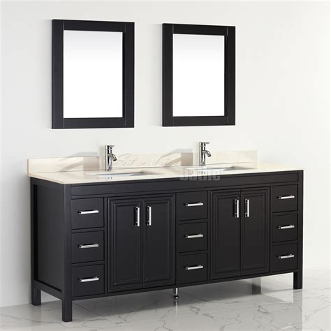 75 inch double sink vanity top studio bathe corniche 75 inch double bathroom vanity