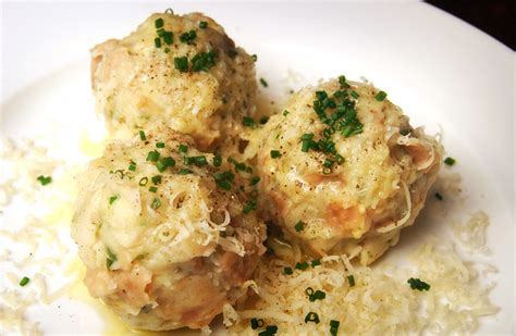 Simple Main Dish - canederli the italian kn 246 del traditional dish from tirolo