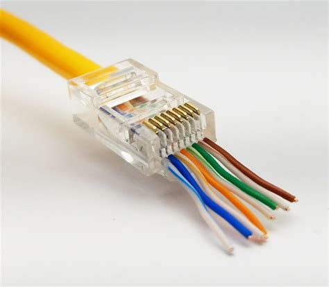 Cat 6 Rj 45 Connector By cat6 rj45 utp connector ethernet connector
