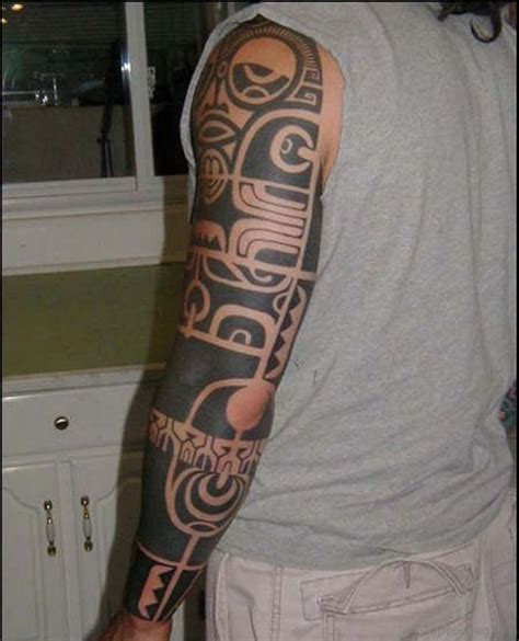 unique sleeve tattoos 56 maori designs on sleeve