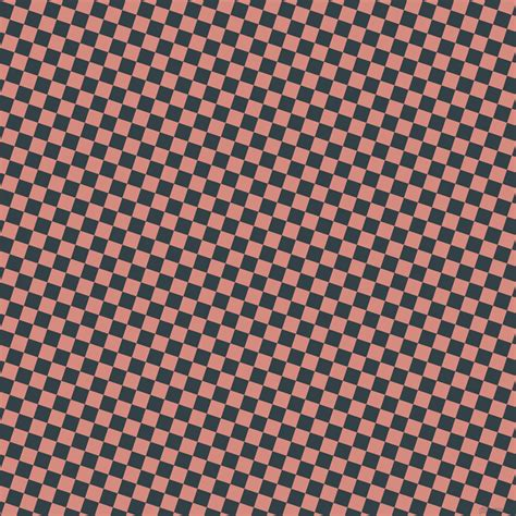 chequer pattern in spanish quarter spanish white and very dark brown checkers