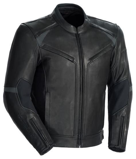 all black motorcycle jacket tour master element leather jacket revzilla