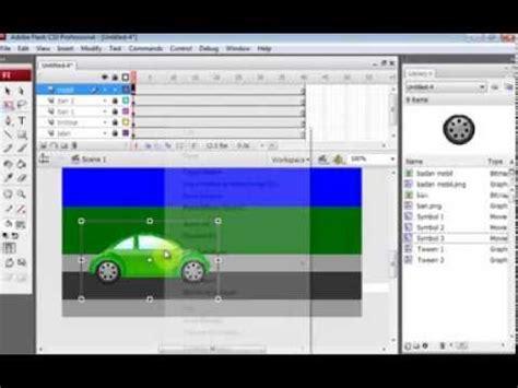cara membuat kuis dengan adobe flash cs3 cara membuat animasi mobil berjalan dengan adobe flash