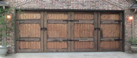 Cedar Clad Garage Doors by Cedar Clad Overhead Doors Will Steed Homes