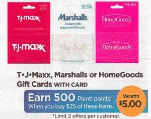 Buy Tjx Gift Card - best rite aid deals 10 29 11 4 the accidental saver