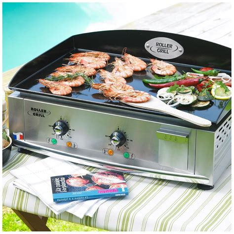 Plancha Electrique Roller Grill by Plancha 600 E Roller Grill