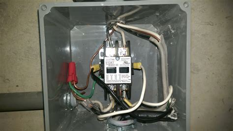 how does a lighting contactor work electrical correct wiring of float switch into two pole