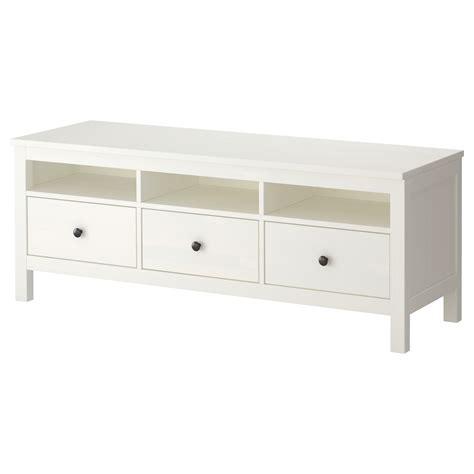 hemnes bench ikea hemnes tv bench white stain 148x47 cm ikea