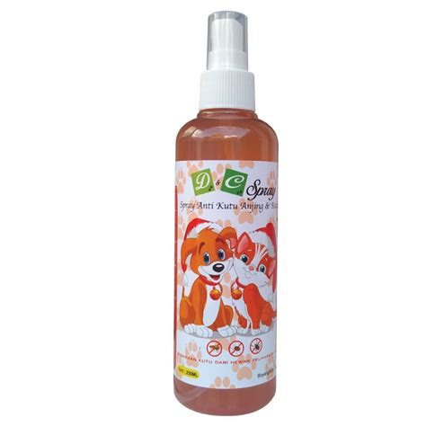 D C Spray Anti Kutu Anjing Kucing 250ml jual d c spray anti kutu anjing kucing 250ml produkkita