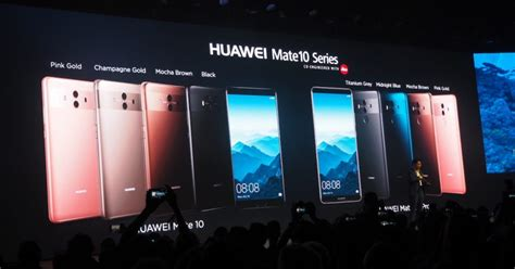 Zhaafirah Series huawei s mate 10 series to be released in singapore in