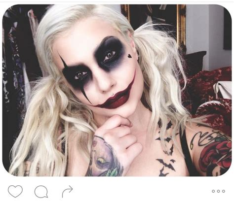 jokers tattoo and body fx calgary 57 best images about clown girl on pinterest clown