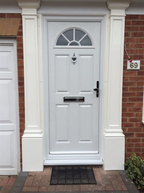 White Front Doors Composite Front Doors In Southton Front Doors Fitted Free Uk Upvc Front Doors