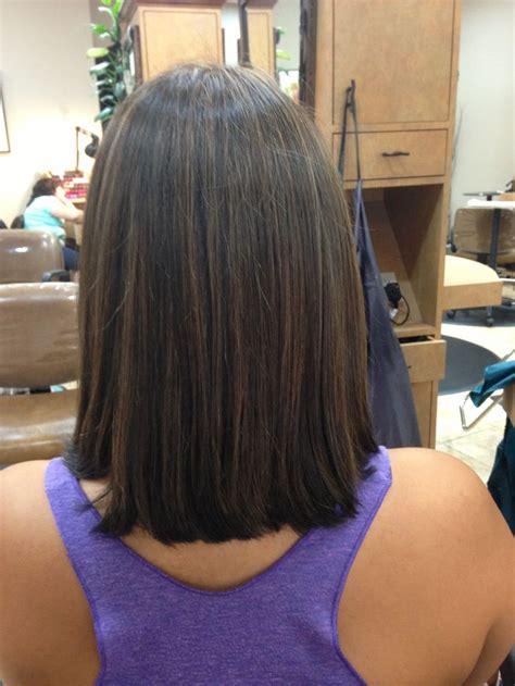 long bob a line back of long a line bob by sarah romero possible haircut