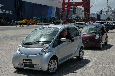 mitsubishi electric car mitsubishi i miev mitsubishi electric car lands in