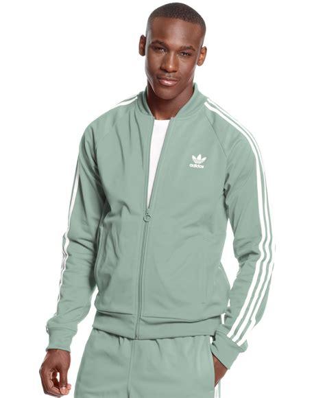 Jaket Adidas Outewear Original Brandedsyndicate 1 adidas originals superstar track jacket in gray for lyst