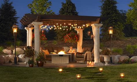 Hanging Outdoor Patio Lights 100 Stunning Patio Outdoor Lighting Ideas With Pictures