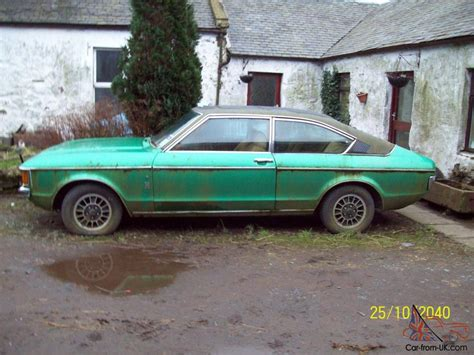 ford granada mk1ghia coupe barn find for restoration