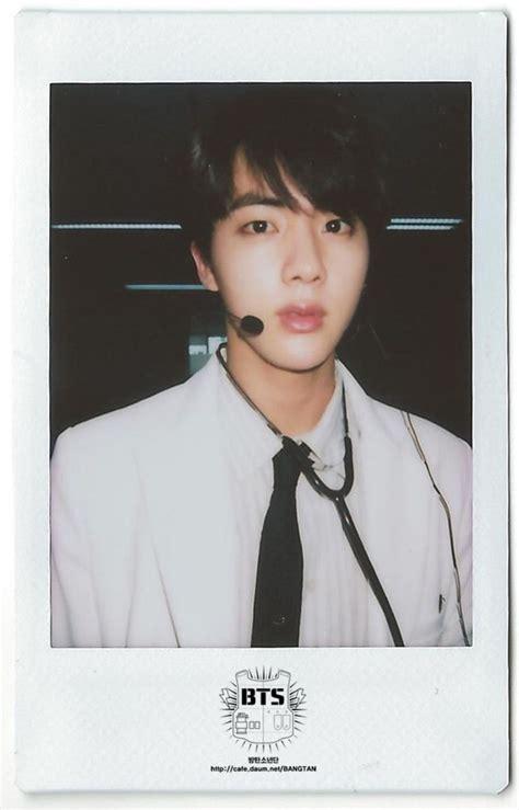 Polaroid Bts jinㅣpink princessㅣ seok jinㅣ생일축하합니다 김석진 bts 방탄소년단 flies to the and the