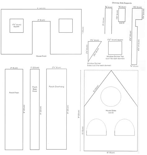 house pattern model house template